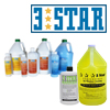 3-Star Brand Cleaners and Sealers