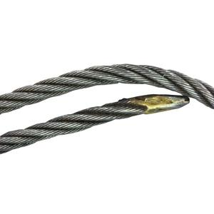One Foot Wire Rope 5/16in Diameter, 5x19