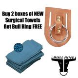 Buy 2 Boxes New Huck Towels Get BullRing