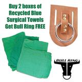 Buy 2bxs Green Huck Towels Get BullRing