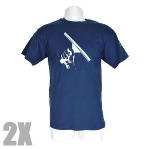 Navy T-Shirt XXL Squeegeelution