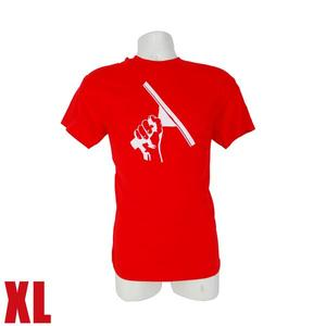 Red T-Shirt XL Squeegeelution