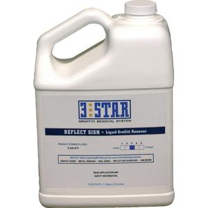 Reflect Sign Graffiti Remover 1Gal 3Star