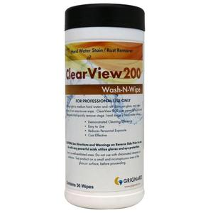 ClearView 200 HardWtr Stain Rmv 50 Wipes