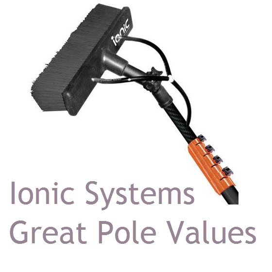 Water Fed Poles by Ionic Systems