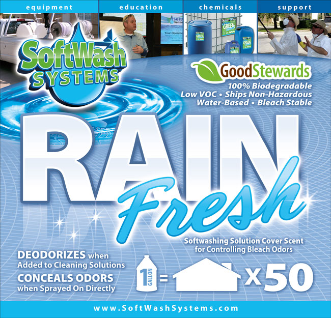 SoftWash Systems Rain Fresh