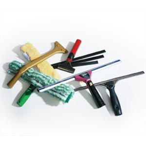 Window Cleaning Tools & Rubber