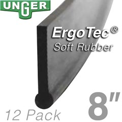 Rubber ErgoTec Soft 08in (12 Pack) Unger