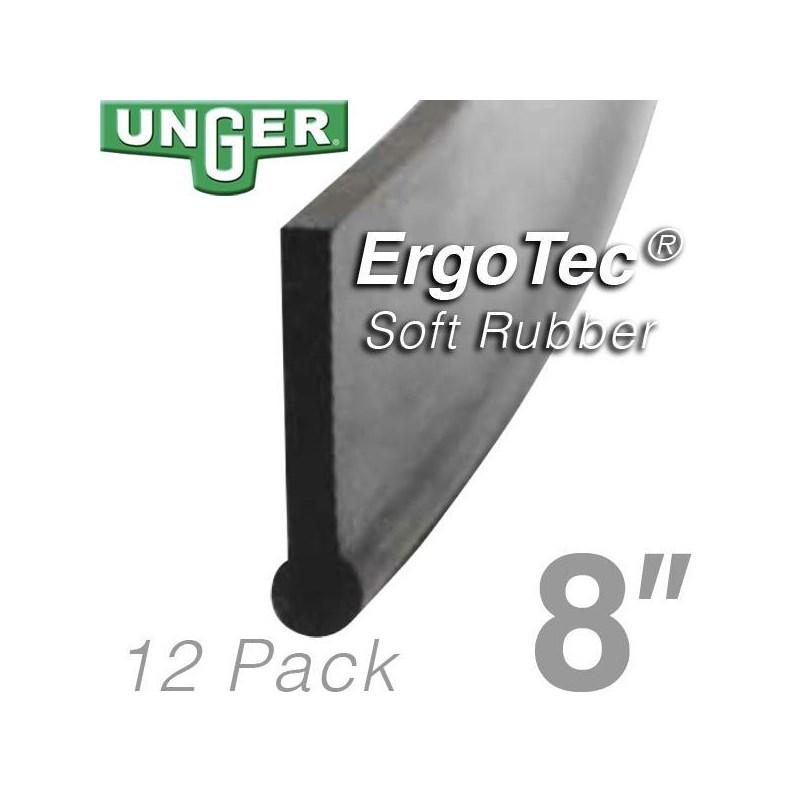 Rubber ErgoTec Soft 08in (12 Pack) Unger