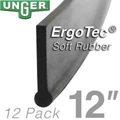 Rubber ErgoTec Soft 12in (12 Pack) Unger