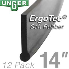 Rubber ErgoTec Soft 14in (12 Pack) Unger
