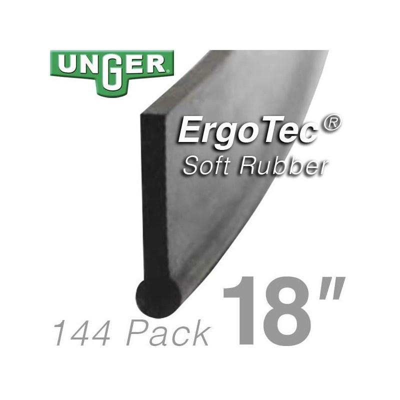 Rubber ErgoTec Soft 18in (144 Pack) Unger