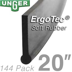 Rubber ErgoTec Soft 20in (144 Pack) Unger