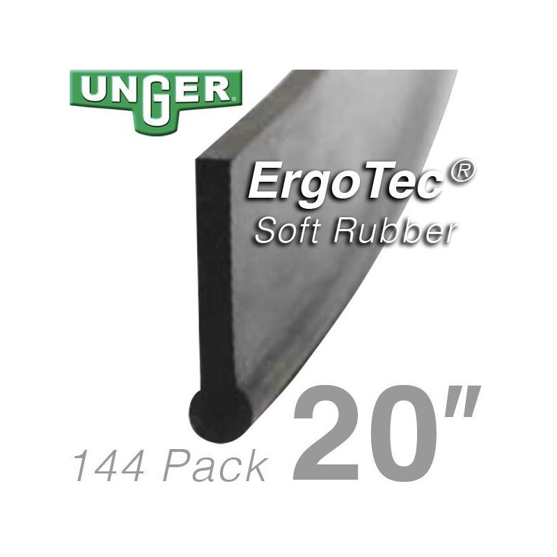 Rubber ErgoTec Soft 20in (144 Pack) Unger