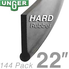 Rubber Hard 22in (144 Pack) Unger