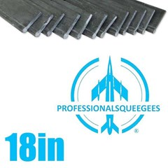 Rubber Professionalsqueegees 18in (144 Pack)