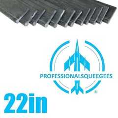 Rubber Professionalsqueegees 22in (144 Pack)