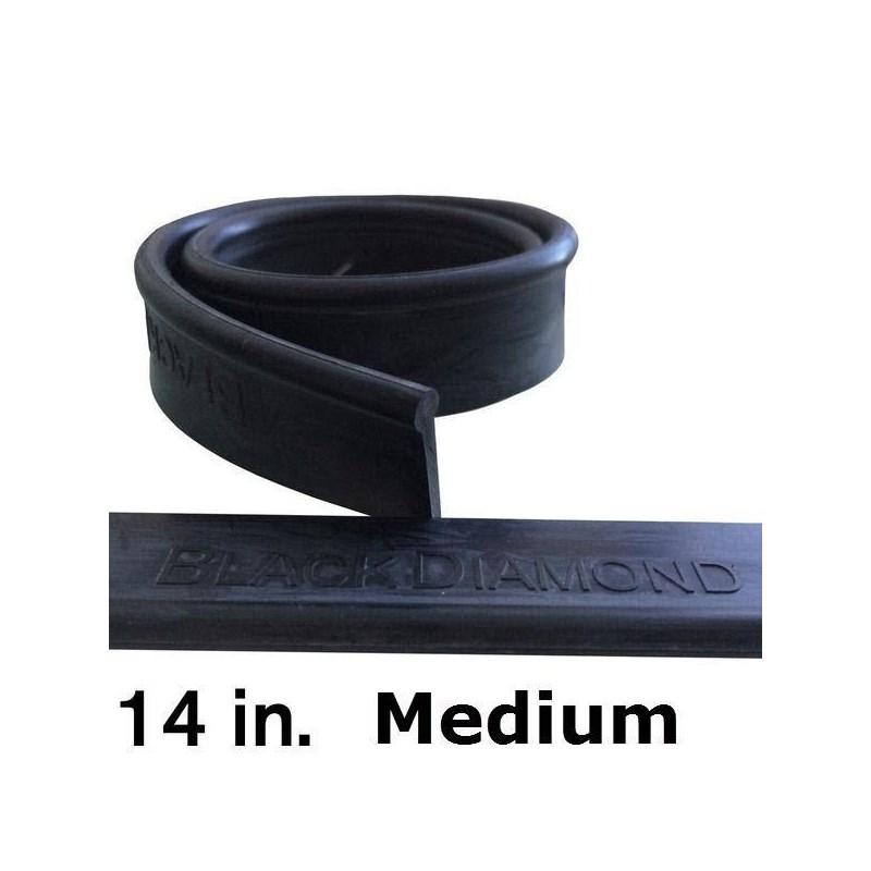 Rubber 14in (12 Pack) Medium Black Diamond