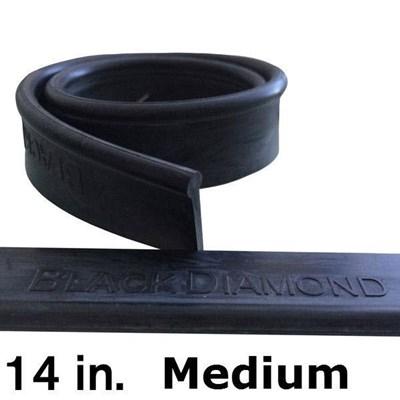 Rubber 14in (144 Pack)  Medium Black Diamond