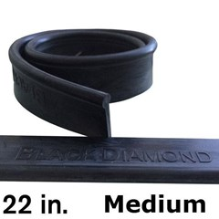 Rubber 22in (12 Pack) Medium Black Diamond