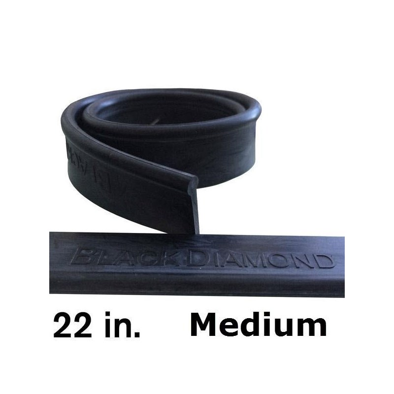Rubber 22in (12 Pack) Medium Black Diamond