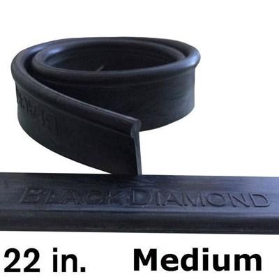 Rubber 22in (144 Pack) Medium Black Diamond