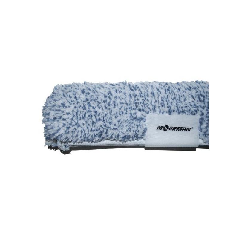 Sleeve 10in MicroFibr Silver w/End Scrub