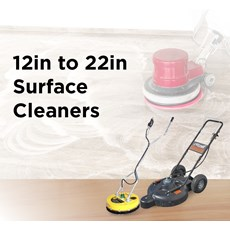 12in to 22in Surface Cleaners