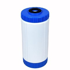 DI Filter 4in x 10in Blue/White