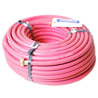Hose 3/8in 150ft  Red Rubber