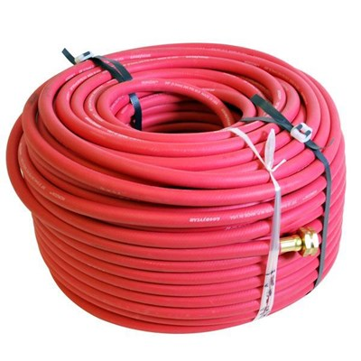 Hose 3/8in 300ft Red Rubber