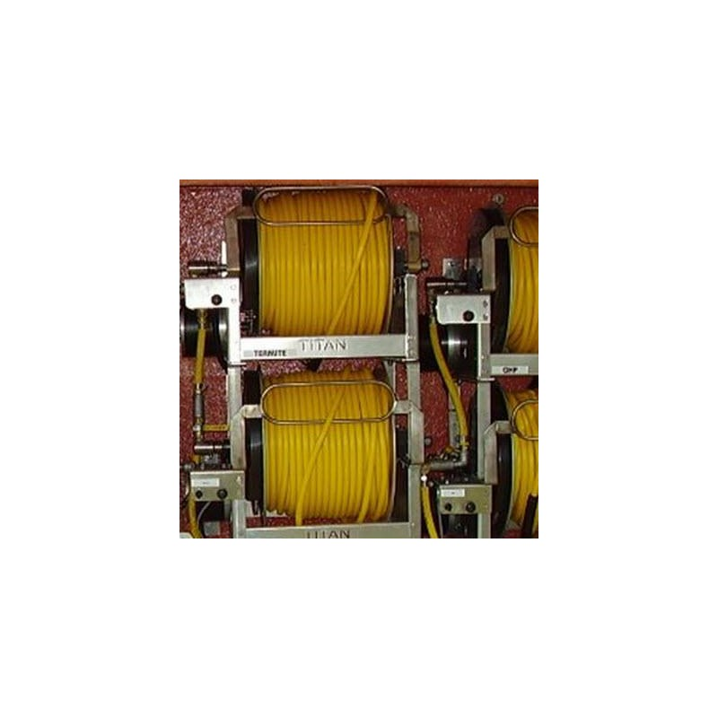 Hose 3/8in 300ft Yellow Rubber