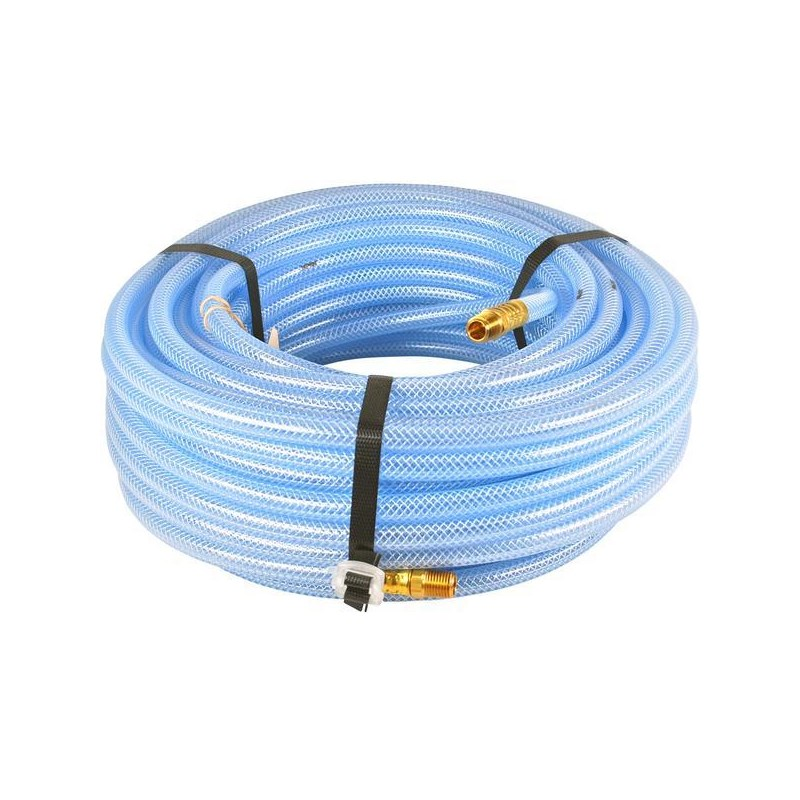 Hose 5/16in 100ft Clear Braided