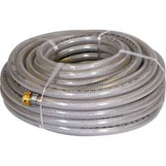 Hose 5/8in Clear Braided