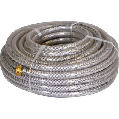 Hose 3/8 200ft Clear Braided
