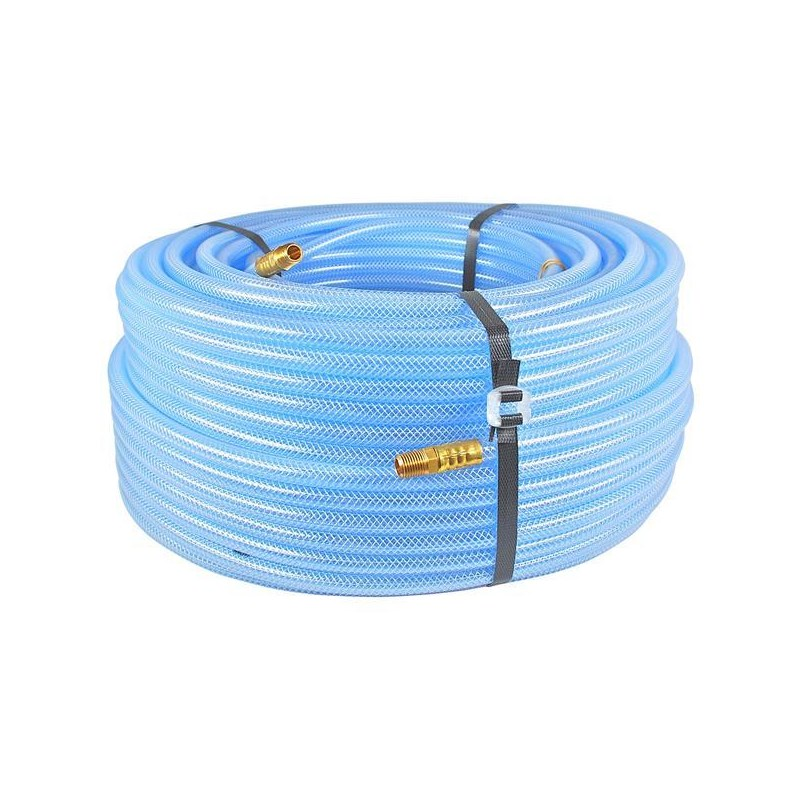 Hose 5/16in Clear Braided