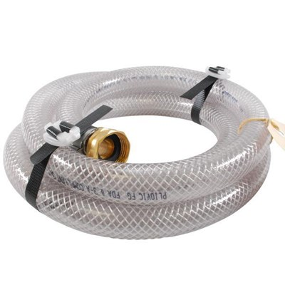 Hose 3/4in 06ft Clear Braided