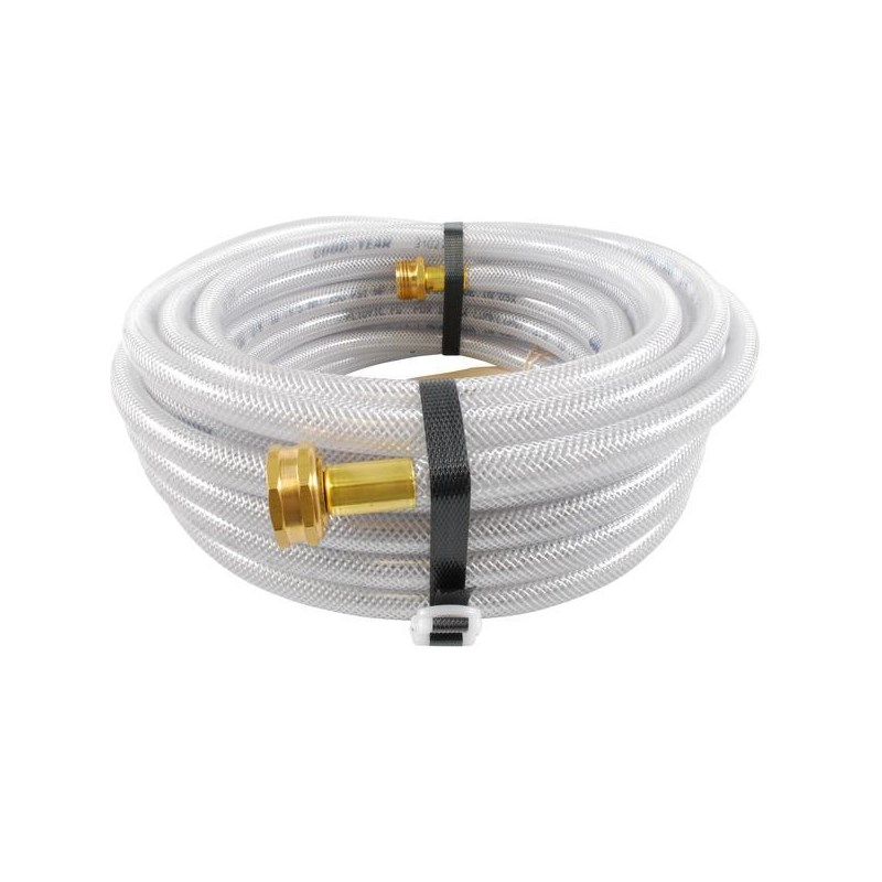 Hose 3/8in 50ft Clear Braided