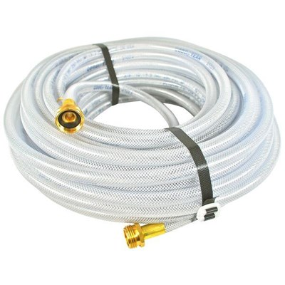 Hose 3/8in 100ft Clear Braided