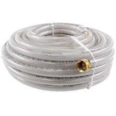 Hose 1/2in Clear Braided