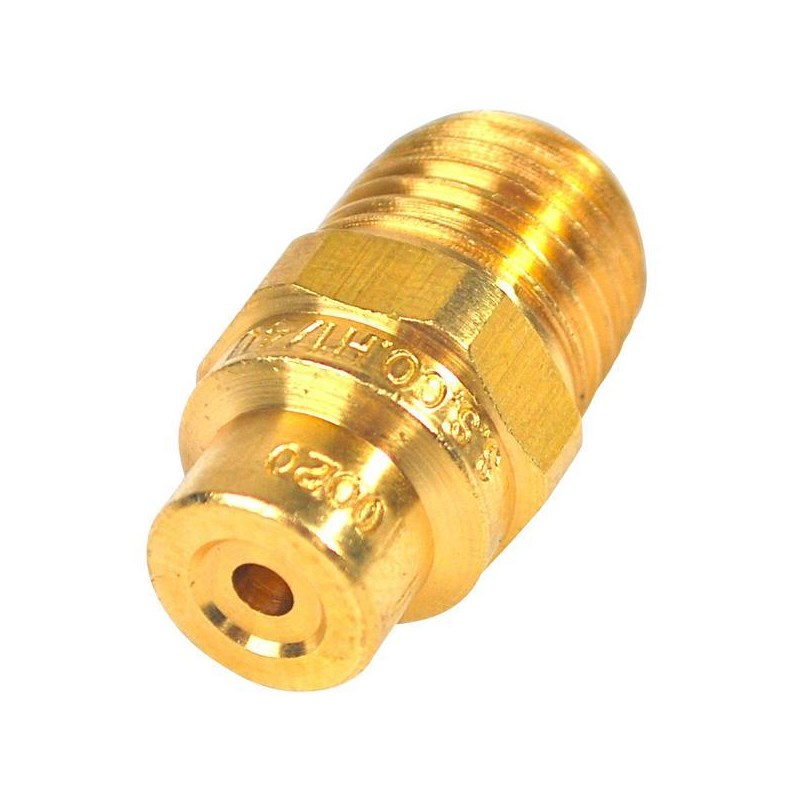 Nozzle Tip Brass Soft Wash 0 Deg 0020
