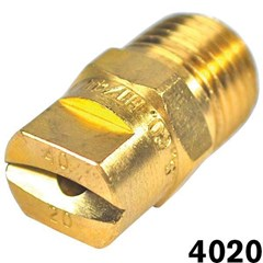 Nozzle Tip Brass Soft Wash 40 Deg 4020