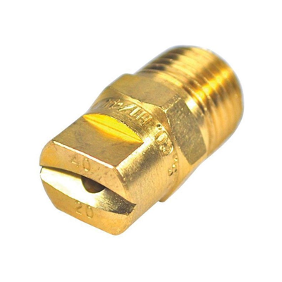 Nozzle Tip Brass Soft Wash 40 Deg 4020