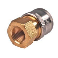 Coupler Brass 1/4in FNPT