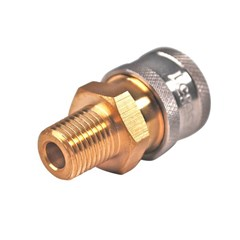 Coupler Brass 1/4in MNPT