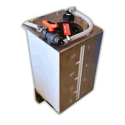 Softwash Systems Saddle Tank Metering