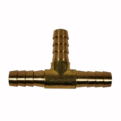 T Connector 1/4in Brass Pro