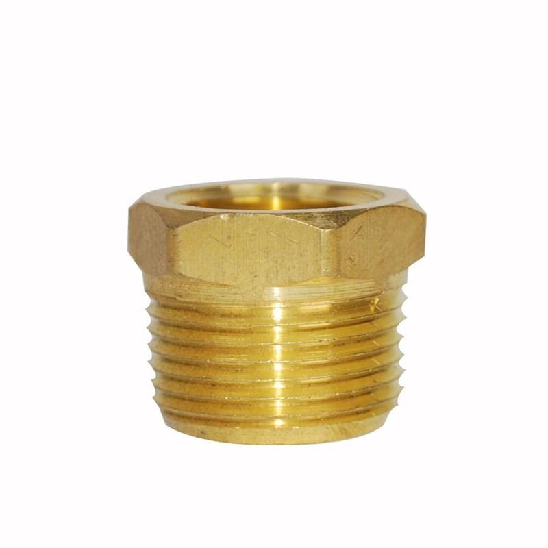 Bushing Hex 3/4in X 1/2in Brass