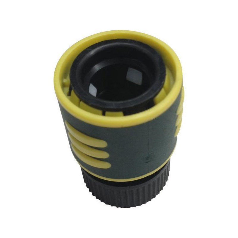 Poly Hose connector with water stop