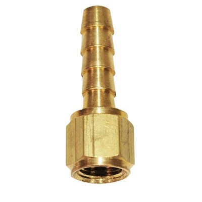 """Hose Barb 1/4"""" to 1/8"""" female pipe"""